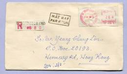Air Mail Registered Letter VIET NAM THANH PHO HO CHI MINH II (810) - Vietnam