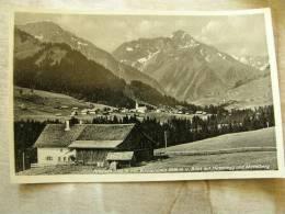 Riezlern Mit Widderstein      D91693 - Kleinwalsertal