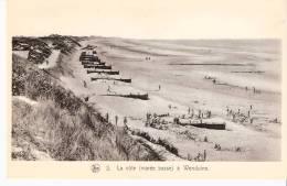 Wenduine (Wenduyne)-La Côte à Marée Basse-Animée-jeux D'enfants-Série: La Flandre Maritime - Wenduine