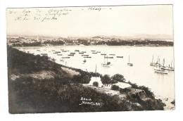 CPA : Mexique : Mazatlan : Port ( Bateaux) , Batiments , Ville Au Fond ... - Mexique