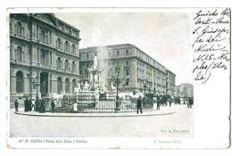 10556   NAPOLI   PIAZZA DELLA BORSA    FONTANA    Petite Déchirure - Italia