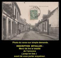 Cpa RANDONNAI (Orne), Rue De La Poste, Petite Animation. 1921. Voir Description Bien Détaillée. - France