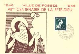 Fosse 1946 - Centenaire Fête-Dieu - Souvenir Cards
