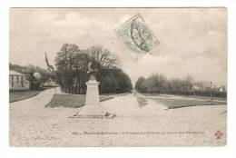 CPA - 92 - Hauts De Seine : Meudon - Avenue Du Château Et La Rue Des Capucines - Meudon
