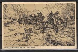 ARTILLERIE -ARMEE BELGE - Guerre 1914-18