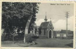 Haaltert :  Brul  , Kapel  H. Jozef  ( Geschreven Met Zegel ) - Haaltert