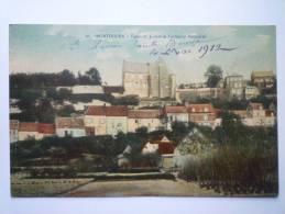 MONTDIDIER  (Somme)  :  Palais De Justice Et Faubourg Becquerel  (Carte Couleur) - Montdidier