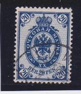 FINLANDE Oblitéré N° 43 Dentelé 14x15 - 1856-1917 Russian Government