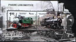 Bosna & Hercegovina  Topic MS MNH (**) - Trains
