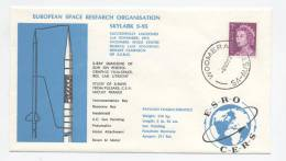 SKYLARK S-95 - ESRO / CERS - Lancement  2 Novembre 1972 - Cachet  De La Base De WOOMERA - Europe