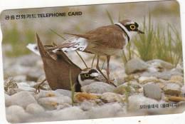 SOUTH KOREA - Birds, Little Ringed Plover(reverse Letter W At Centre, W3000, 07/97, Used - Corea Del Sud