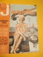 """"""" Jacqueline"""" N°3 /Grégory PECK """"pourquoi J´ai épousé Une Française""""/Martine CAROL/1961     CIN10 - Cinema"""