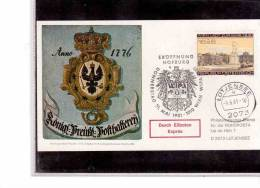 "TEM8056-    LUETJENSEE  9.6.1981     ""  WIPA 1981 "" - Exposiciones Filatélicas"