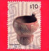 ARGENTINA - Usato - 2008 - Ceramica Cultura Yocavil - Vaso - $ 10 - Argentina