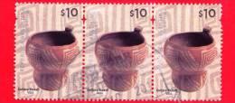 ARGENTINA - Usato - 2008 - Ceramica Cultura Yocavil - Vaso - $ 10 (x 3) - Argentina