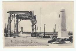 Nieuwpoort, Nieuport De Fransche En Britsche Gedenkteekens En De Brug Over Den Yzer (pk6985) - Nieuwpoort