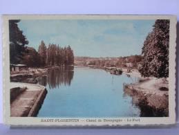 SAINT FLORENTIN (89) - CANAL DE BOURGOGNE - LE PORT - Saint Florentin