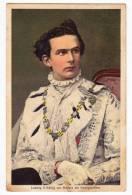 ROYAL FAMILIES LUDWIG II KING OF BAVARIA AS GEORGE KNIGHT Nr. 1038 OLD POSTCARD - Royal Families