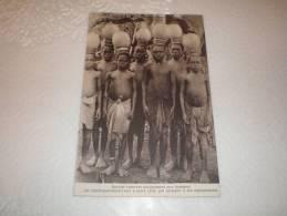 CPA Mission Des Salomon Septentrionales - Groupe D´initiés à La Société Secrète De L´esprit Toubouan - Salomon