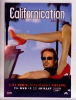 CALIFORNICATION Saison 1 En DVD Publicité Cinéma Film  Carte Non écrite - Reclame