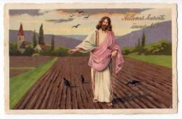 RELIGIONS CHRISTIANITY JESUS ERIKA Nr. 6076 OLD POSTCARD - Jesus