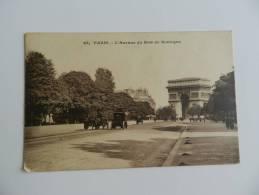 Cp   Paris  L Avenue Du Bois  De Boulogne - Parks, Gardens