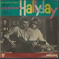 """45 Tours EP - JOHNNY HALLYDAY - PHILIPS 432739 - """" RETIENS LA NUIT """" + 3 ( 1er Pochette ) - Autres - Musique Française"""