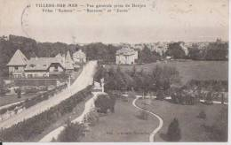 VILLERS-SUR-MER-Vue Générale Prise Du Donjon Villas Samson ,Suzanne,Jacob - Villers Sur Mer