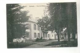 Belle Cpa Kerbastic (Guidel) - Vue Du Château - Guidel