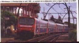 Q.480  /  1986  --  PAYS BASQUE 64 --   LE METROBASQUE A HENDAYE PLAGE - Unclassified