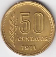 @Y@  Argentinië  50 Centavos  1971   UNC    (C368) - Argentinië