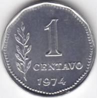 @Y@  Argentinië  1 Centavos  1974   UNC    (C369) - Argentinië