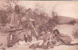 Campement Touareg Iforas Dans Le Tilemsi Cpa Sépia Animée Bon état Voir Scans - Sahara Occidental