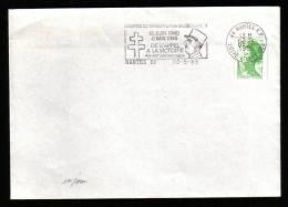 COMPAGNON DE LA LIBERATION DE L'APPEL A LA VICTOIRE - NANTES 20 MAI 1985