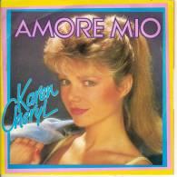 45T. Karen CHERYL. AMORE MIO. - 45 T - Maxi-Single