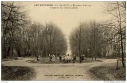 93-NEUILLY-PLAISANCE- Plateau  D´Avron_Chemin Des Demoiselles-animée - Neuilly Plaisance