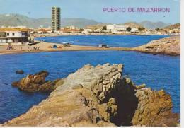 (AKZ207) PUERTO DE MAZARRON. PLAYA DE LA ISLA - Murcia