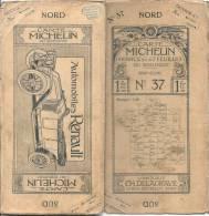 CARTE MICHELIN 1910 /1920 - Carte à 1.00 Fr - GAP CONI  - Couverture B ( Taches  Petits Plis)  Interieur TTB - Cartes Routières