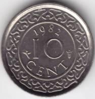 @Y@   Suriname  10 Cent 1982  UNC         (C397) - Suriname 1975 - ...