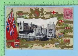 Montréal Quebec Canada Patriotique Patriotic ( Royal Victoria Hospital 1908 ) Post Card Carte Postale - Montreal