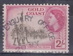 Gold Coast, 1952, SG 162, Used - Gold Coast (...-1957)