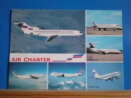 Avions De La Compagnie AIR CHARTER ( Filiale Air France Et Air Inter )   Multivues - 1946-....: Moderne