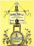 CPM  PUBLICITE COGNAC VANILLE PRESSAC - Ansichtskarten