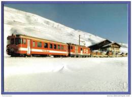 "FO Furka - Oberalp (heute MGB) - Autozug Ob Andermatt - ""nos Vieiles Voitures"" - Train - Treinen"