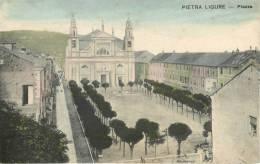 ITALIE - PIETRA LIGURE - PIAZZA - Italia