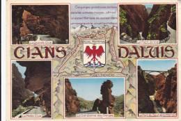 VALBERG 06, CIRCUIT CIANS-DALUIS PAR GUILLAUMES, RIGAUD, TOUËT, ENTREVAUX - Autres Communes