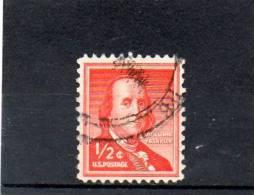 USA130 - STATI UNITI 1954 0,5 CENT. - Oblitérés