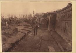 Planche Du Service Photographique Armée Belge Guerre 14-18 WW1 Militaire La Redoute Elisabeth à Nieuwcapelle - Livres, Revues & Catalogues