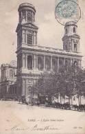Cp , 75 , PARIS , L' Église Saint-Sulpice - Unclassified