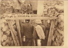 planche du service photographique arm�e belge guerre 14-18 WW1 militaire abri de caeskerke